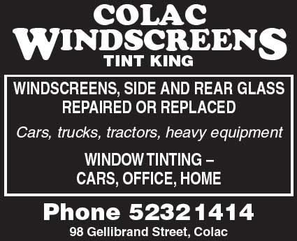 Colac Windscreens