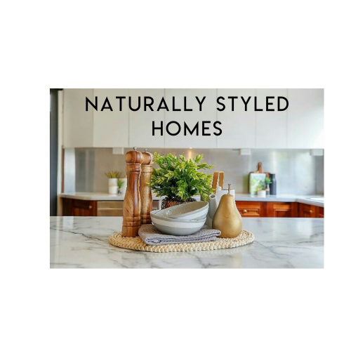 Naturally styled homes