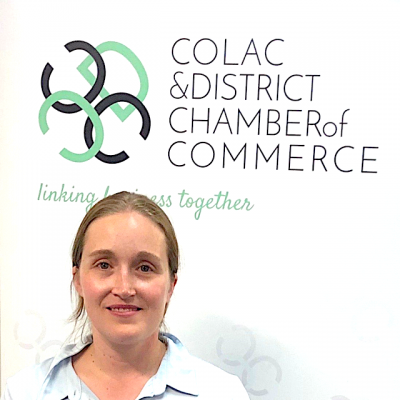 Amy Baudinette colac chamber of commerce